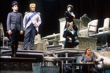 Scena da La Cenerentola al ROF 2000