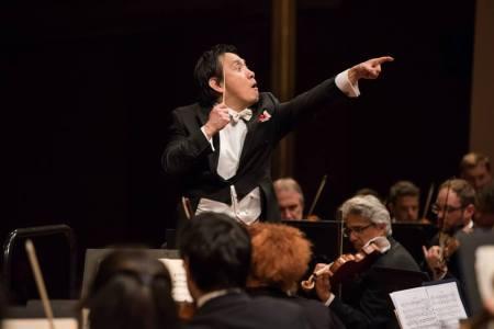 Eiji Oue sul podio della OSN Rai © Più Luce